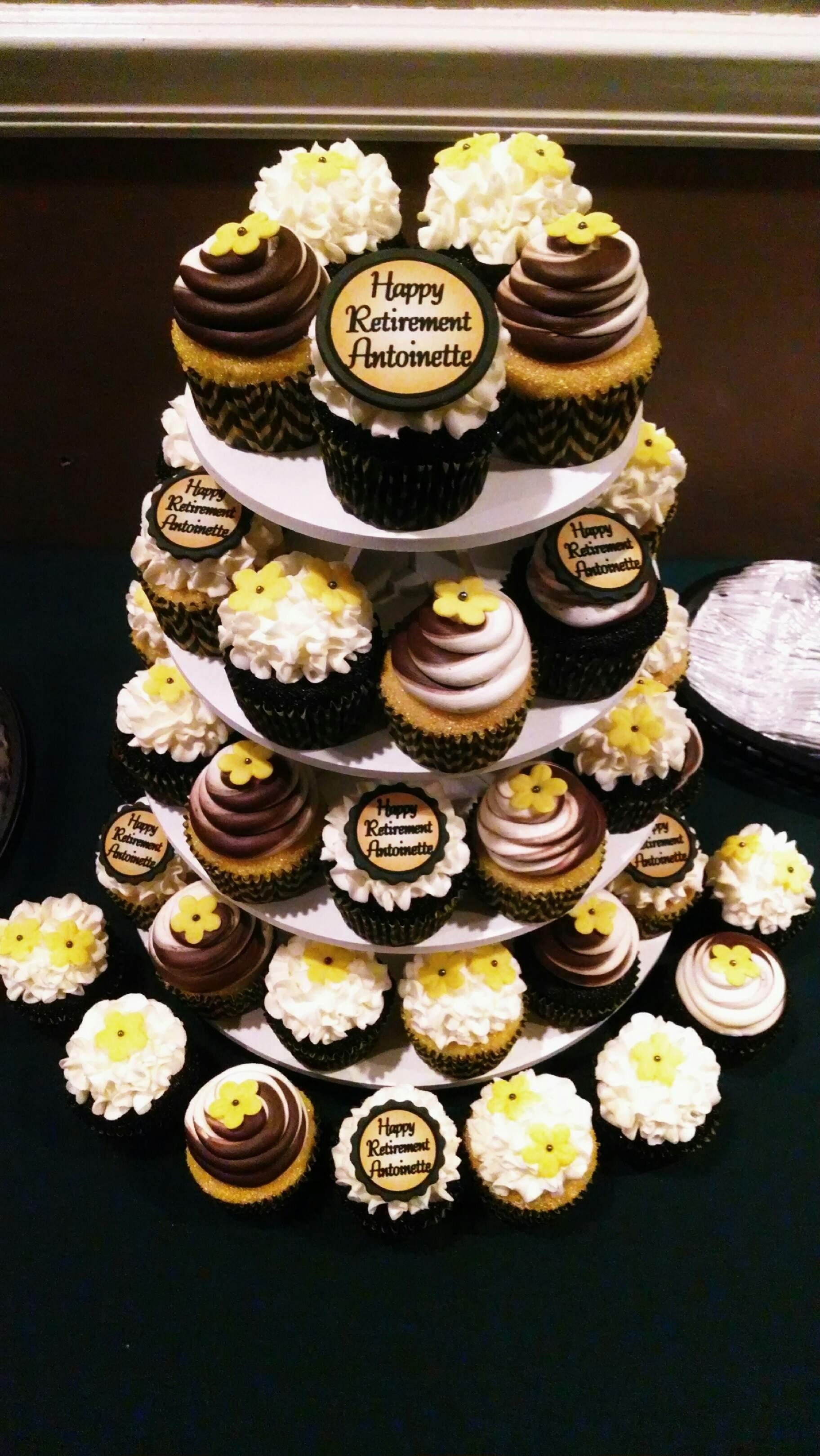 Antoinette S Retirement Cupcakes