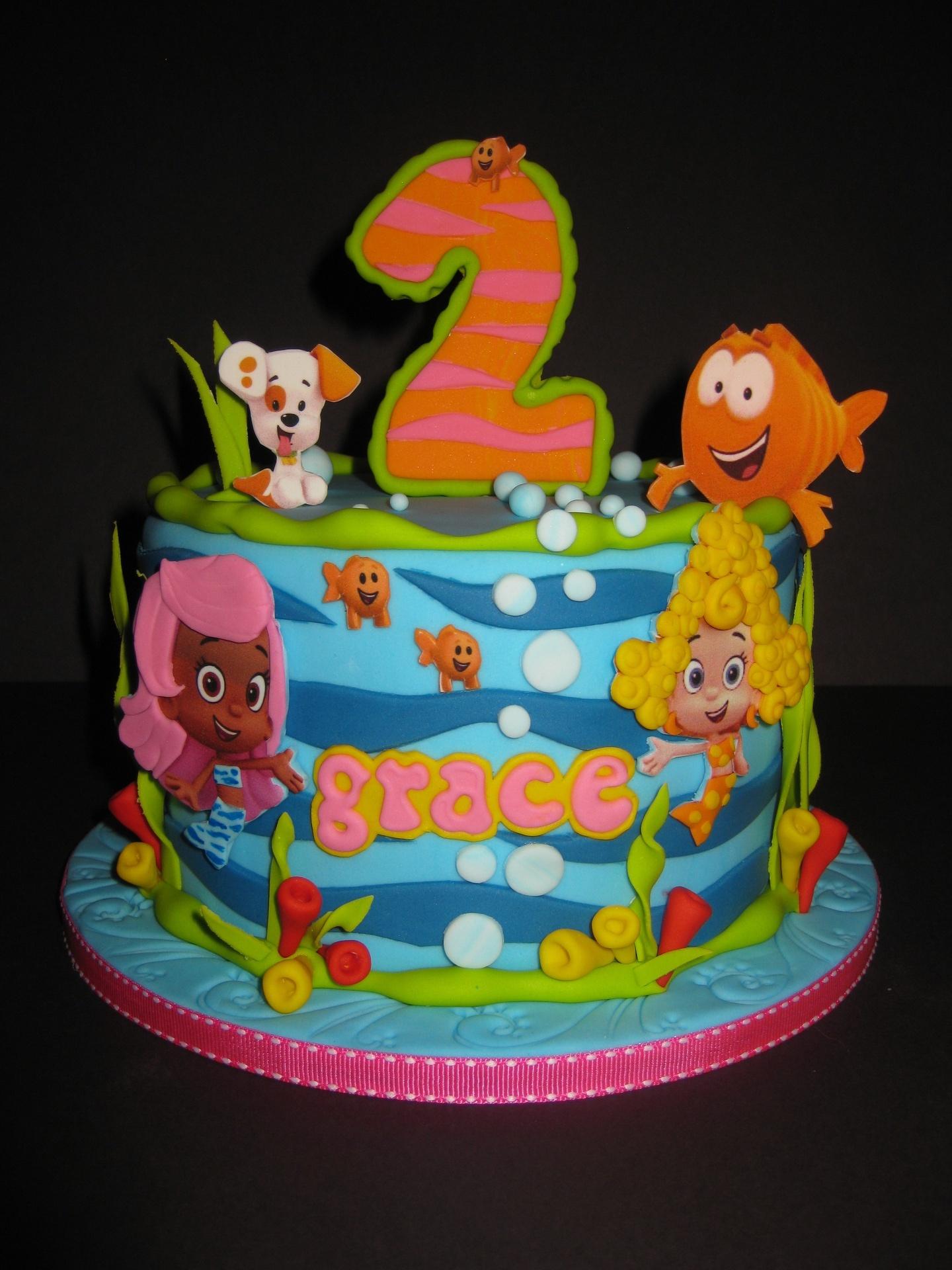 Graces Bubble Guppies Birthday