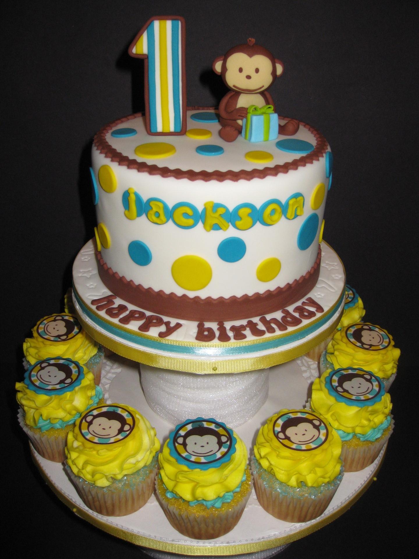 Jacksons Mod Monkey 1st Birthday