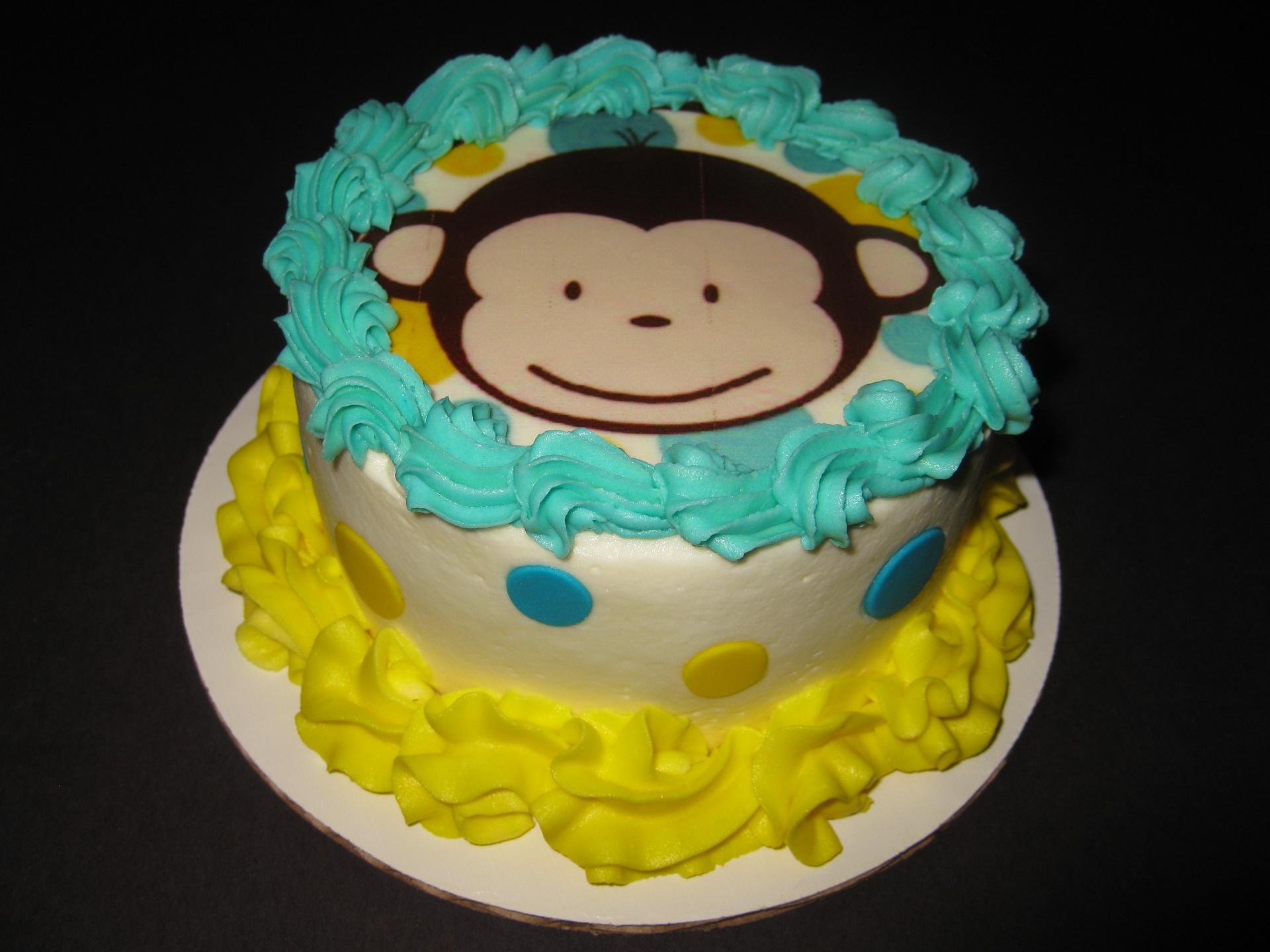 Jackson's Mod Monkey Smash Cake