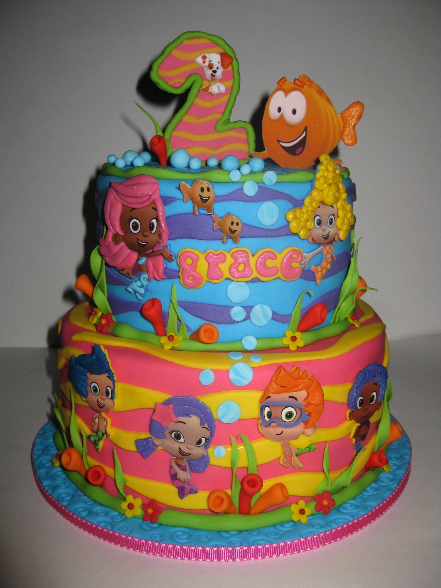 Grace's Bubble Guppies Birthday