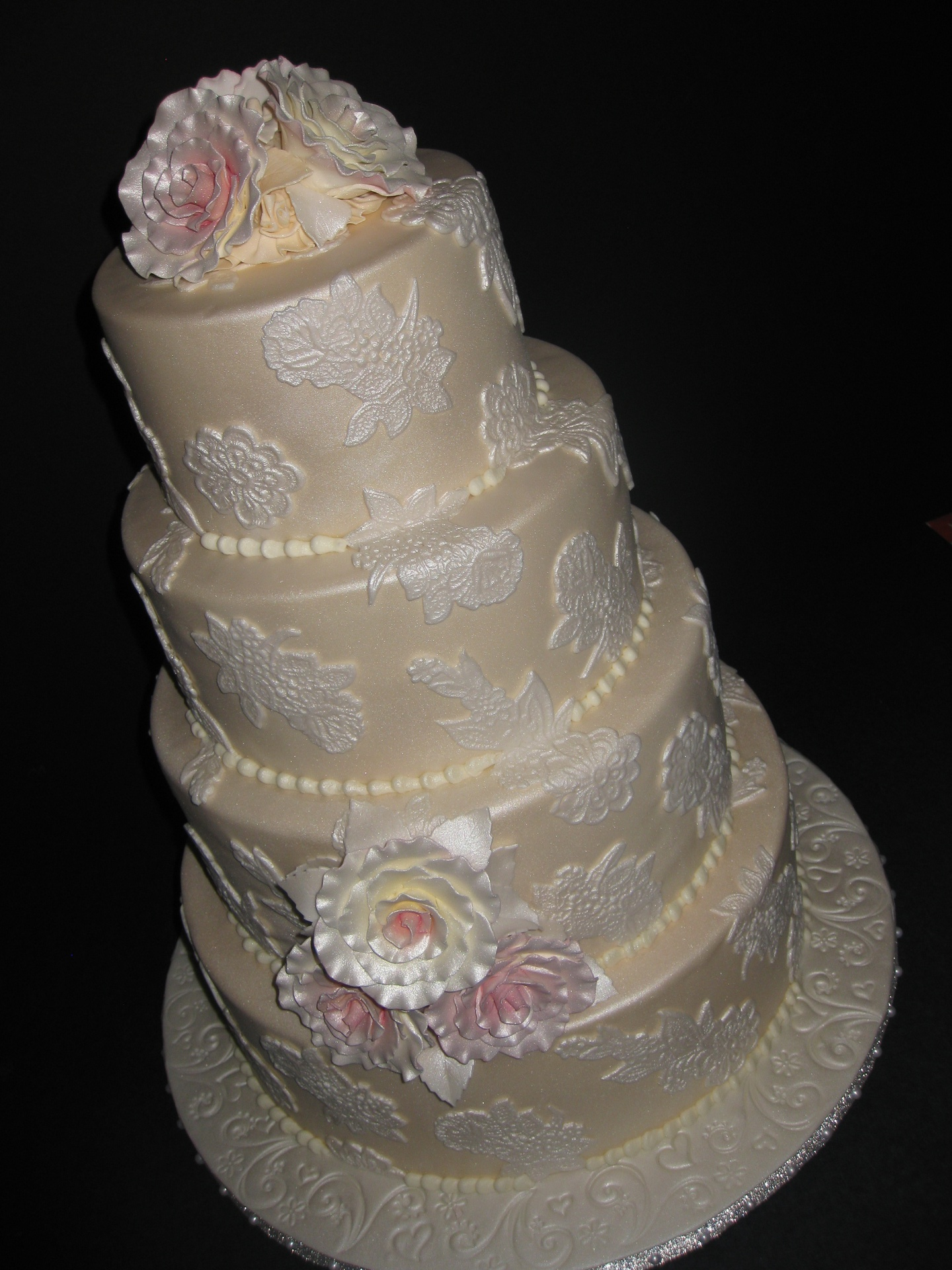 Nicole & Pete's Wedding Cake