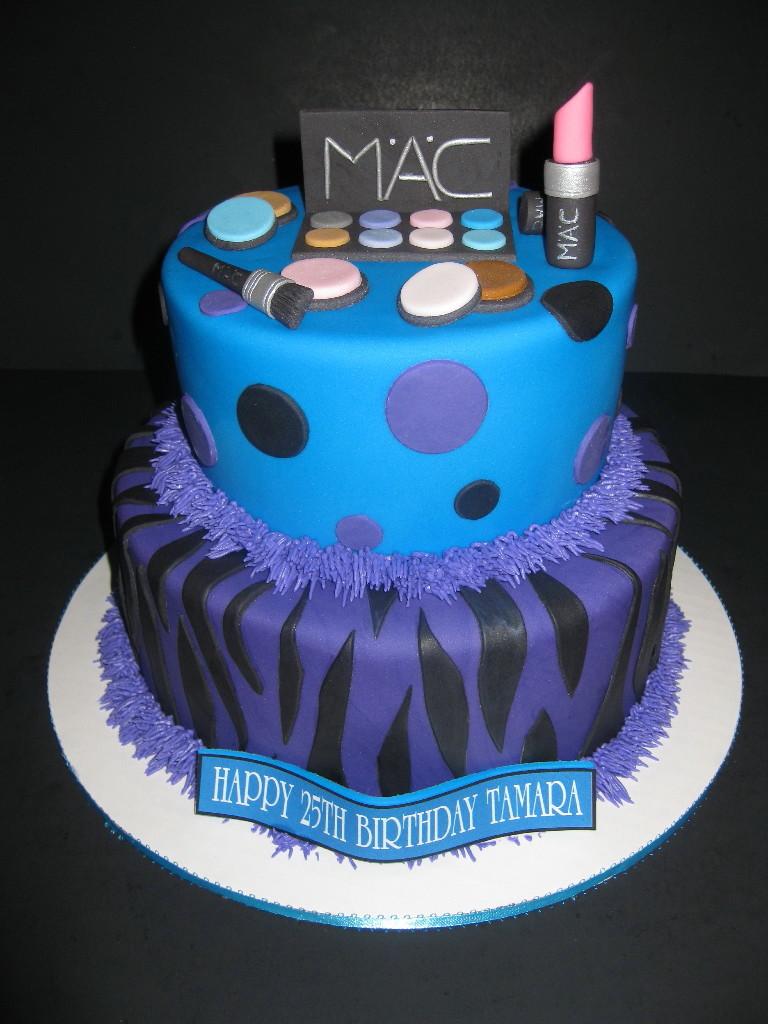MAC Make-up Cake