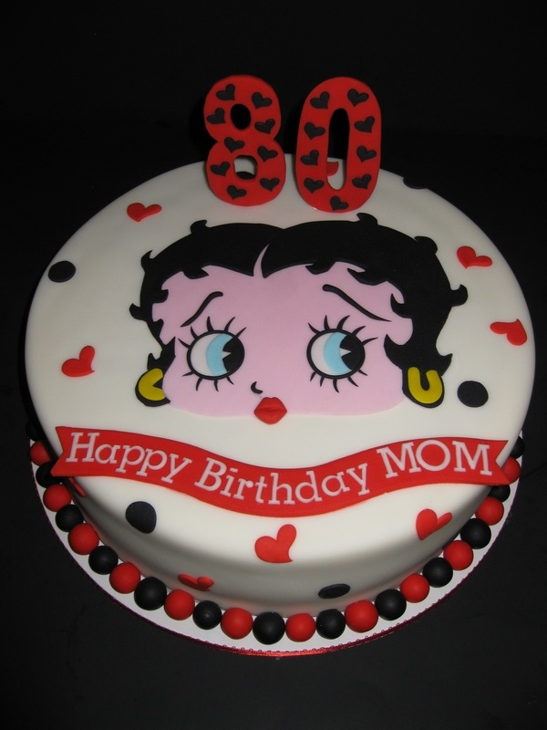 Betty Boop Birthday Celebration