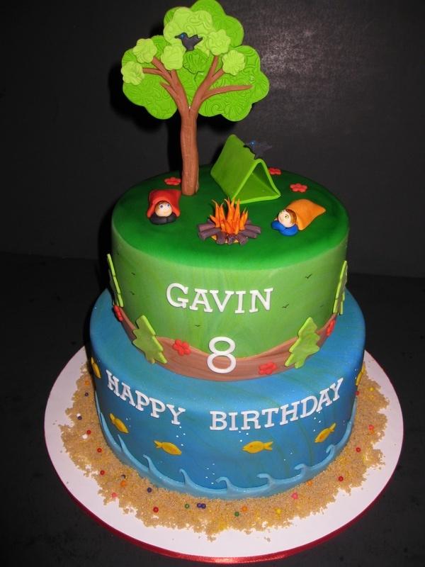 Gavin's Camping Cake