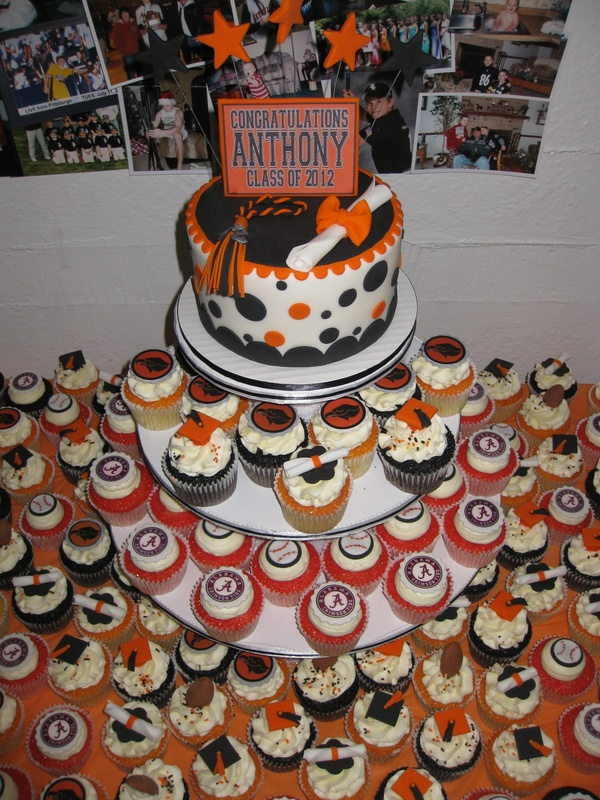 Anthony (Skin's) Grad Cupcake Tower