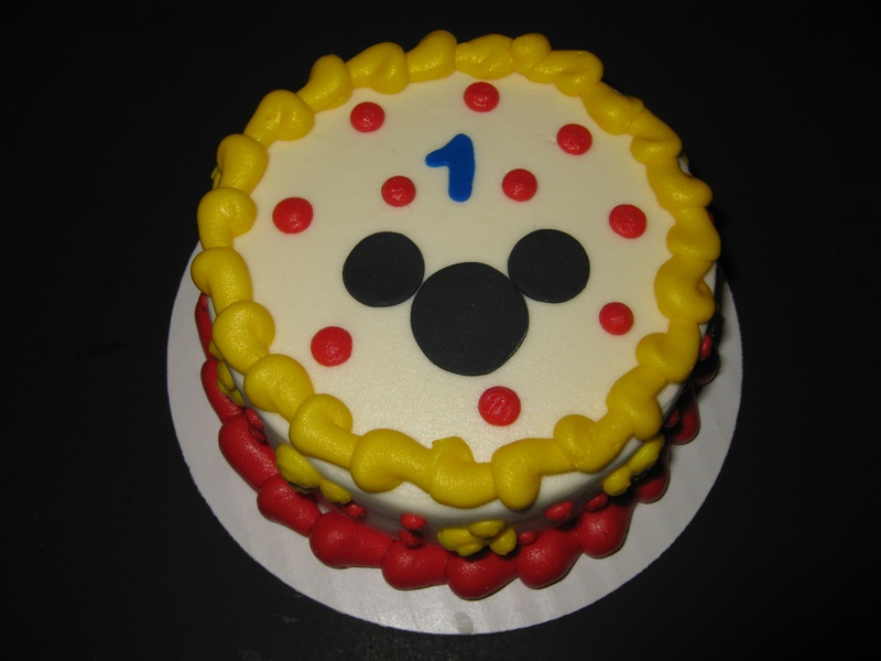 Mickey Mouse Club House Smash Cake