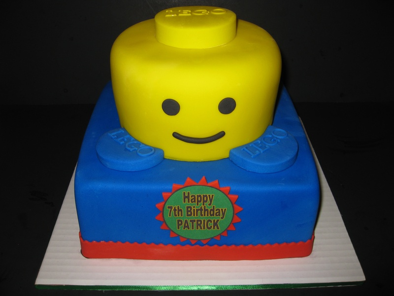 Patricks Lego Birthday Cake