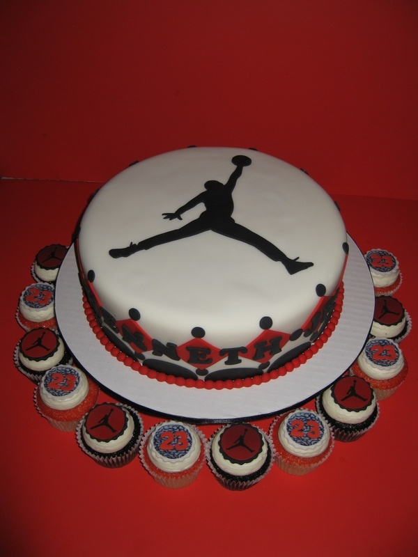 Michael Jordan Baby Shower Cake