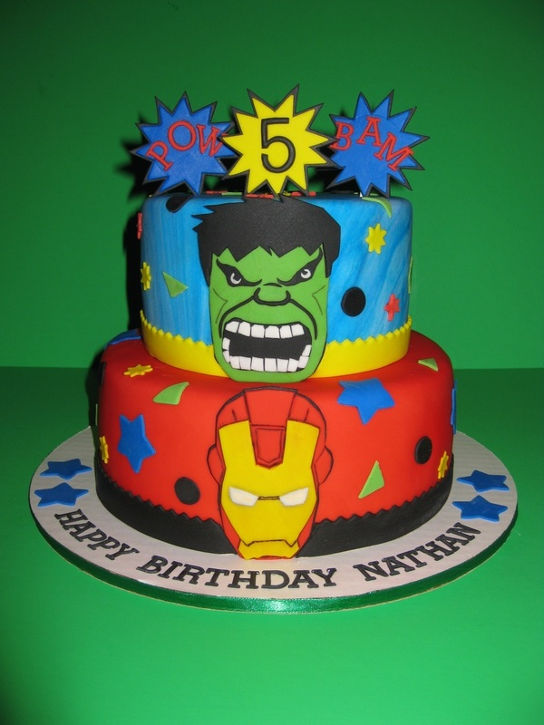 The Avenger's Birthday Cake