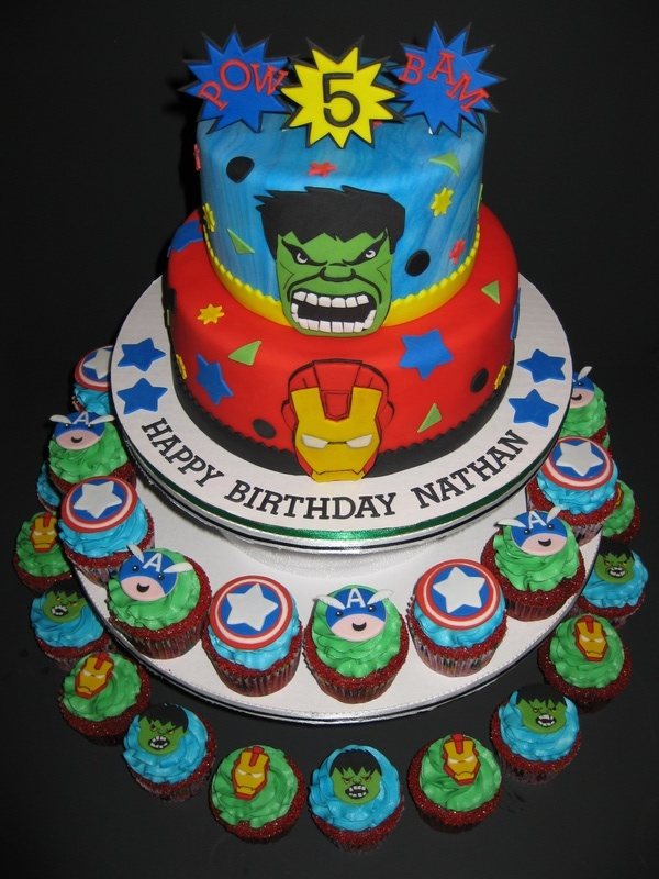 Nathan's Avenger's Birthday Celebration