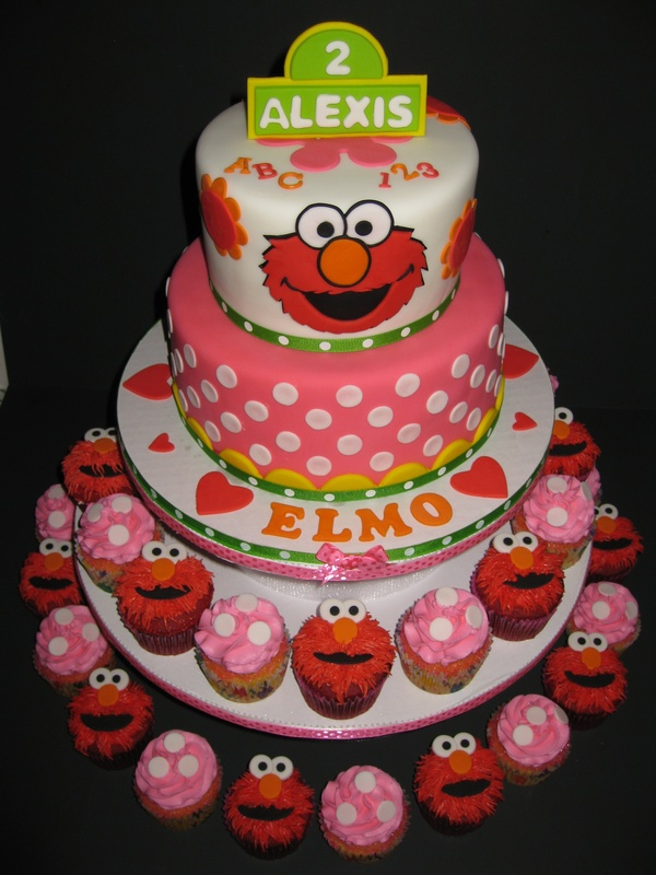 Lexi's Elmo 2nd Birthday Tower