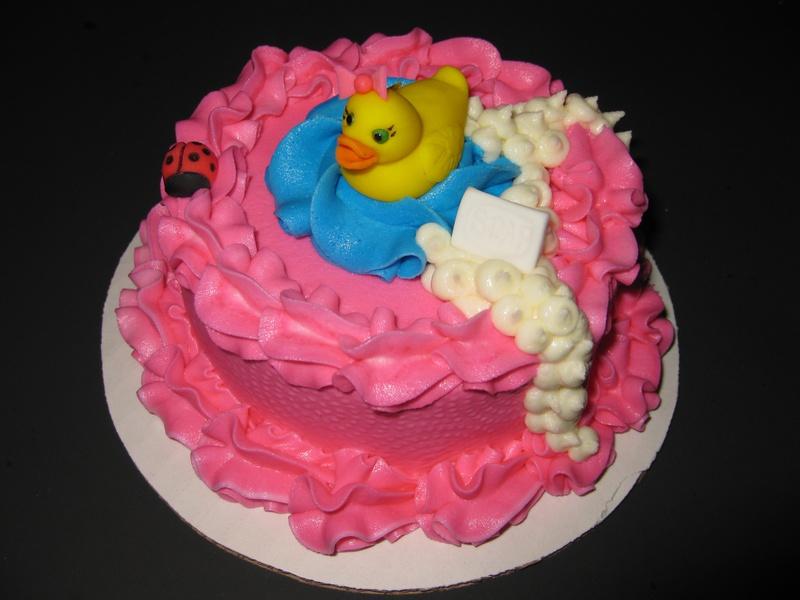 Rosa's Rubber Ducky Smash Cake