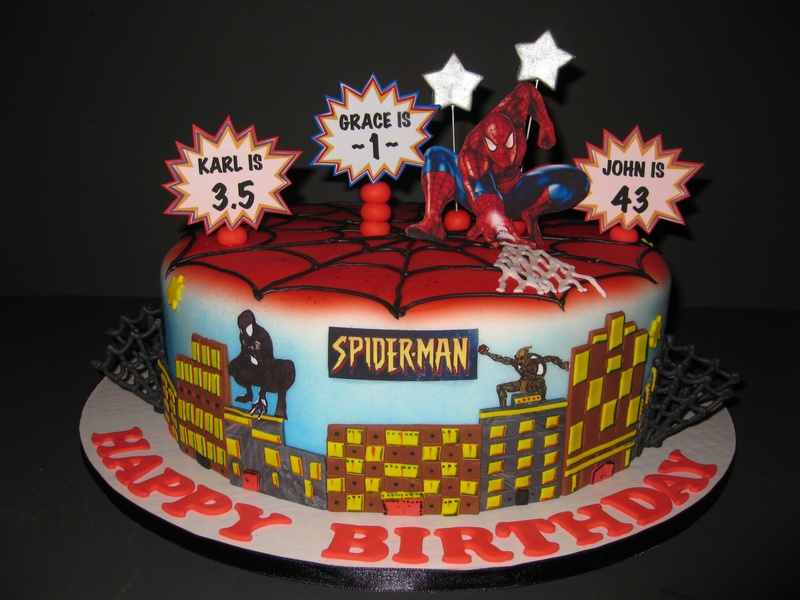 Spiderman Birthday Celebration