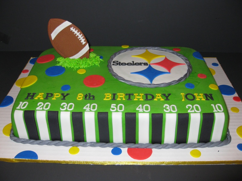 Johns Steelers Birthday Cake