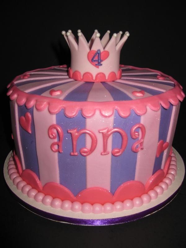 Anna's Princess Birthday Cake