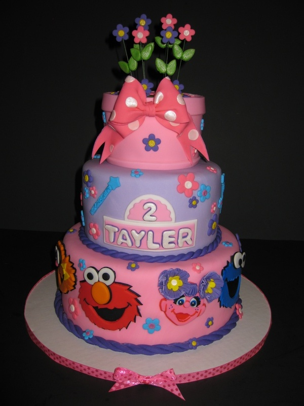 Tayler's Girly Sesame Street Birthday