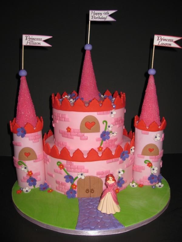 Allison & Lauren's Princess Birthday Cake