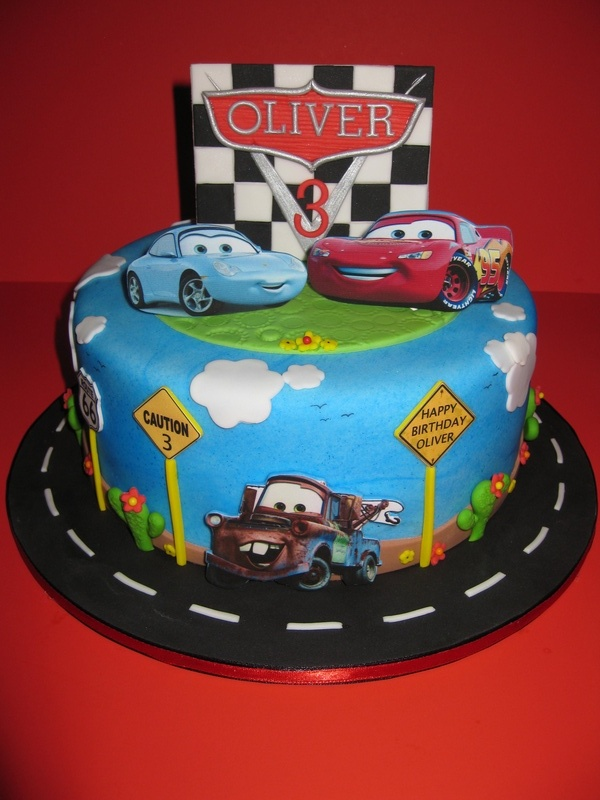 Disney Pixar Car's Birthday Cake
