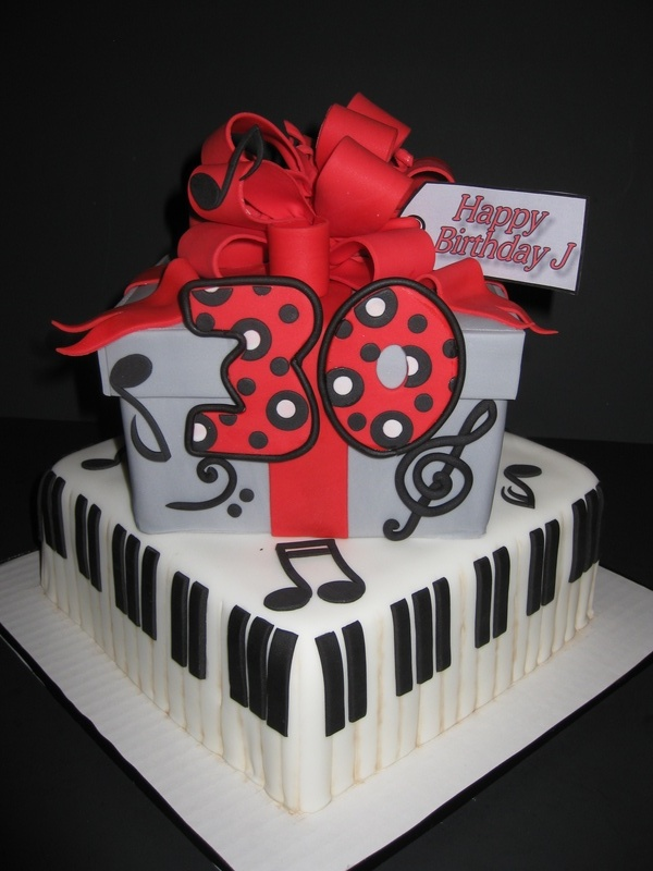 Music Man/Gift Box Cake