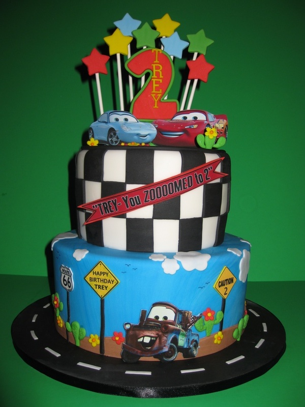 Trey's Car's Birthday Cake
