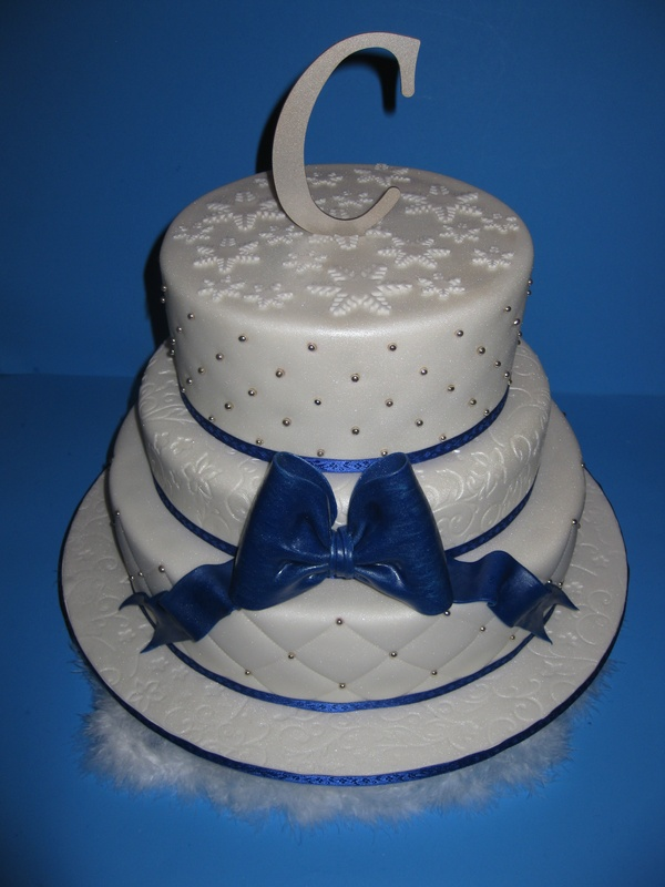 Bethany & Anthony's Wedding Cake