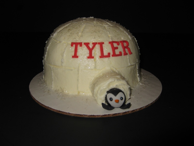 Tyler's Winter 'ONE'derland Cake