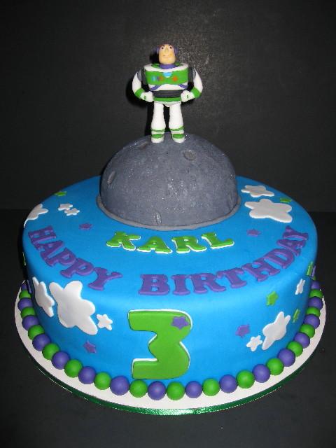 Karl's Buzz Lightyear Birthday Cake