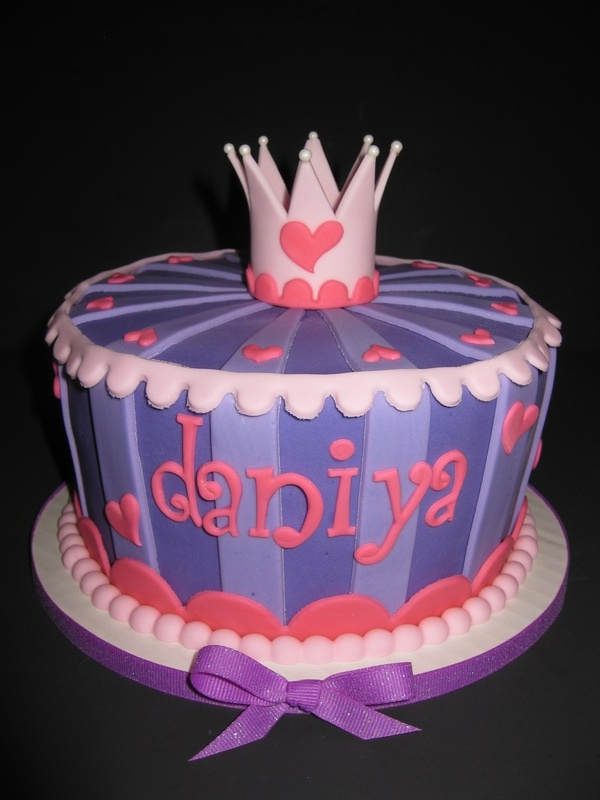 Daniya's Princess Birthday Cake