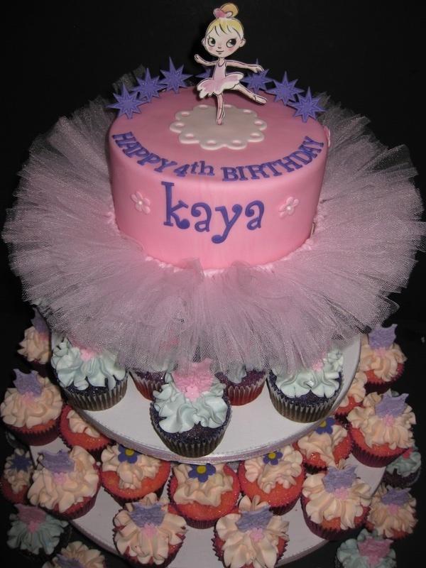 Kaya's Ballerina Birthday