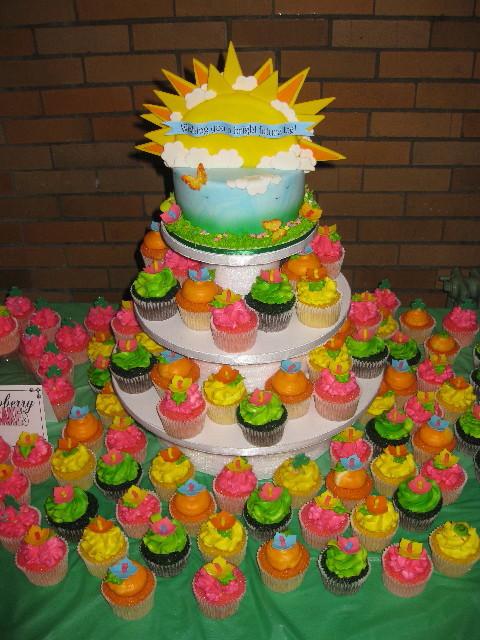 Joey's Fund Raiser Cupcake Tower