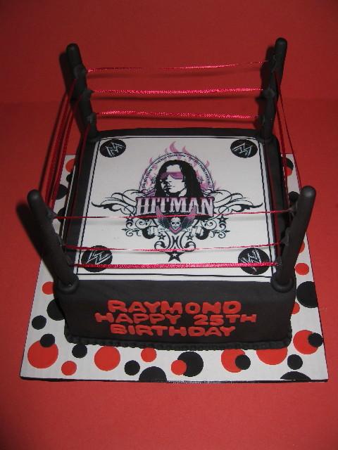 Raymond S Wrestling Ring Cake