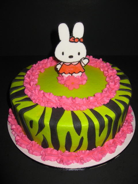 Hello Kitty Tropical Birthday Cake