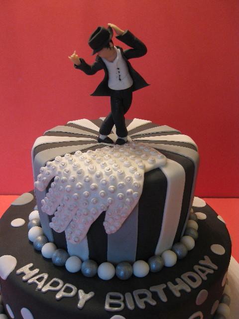 JaJa's Michael Jackson Cake