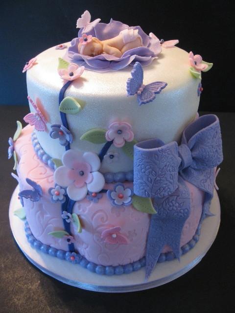 Treva & Jamie's Baby Shower Cake