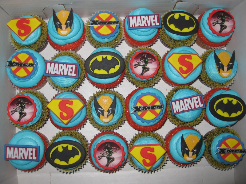 Superhero Birthday Cakes London