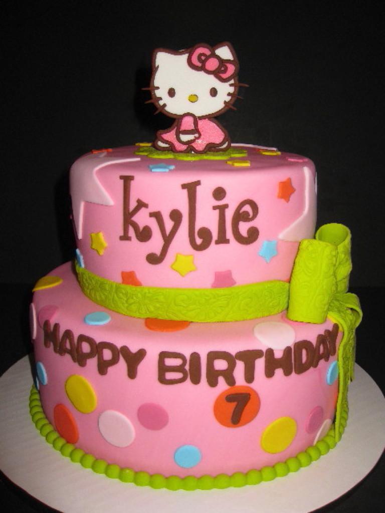 Kylie's Hello Kitty Birthday Cake