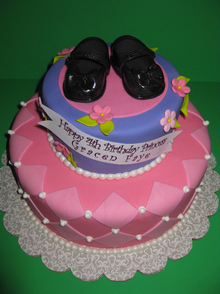 Gracen Faye's Princess Birthday Cake