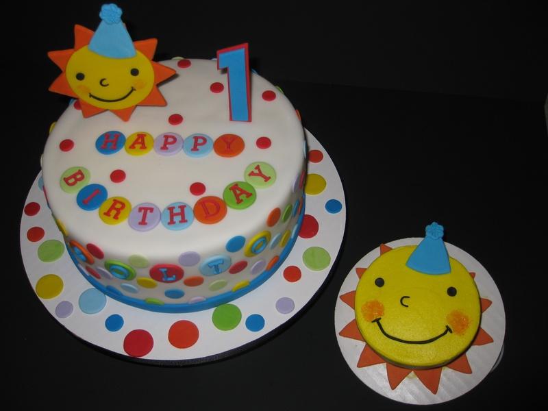 Solomons 1st Birthday Cakes