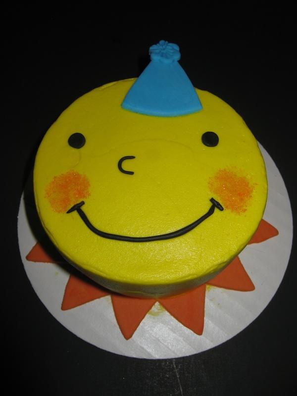 Solto's Sunshine Smash Cake