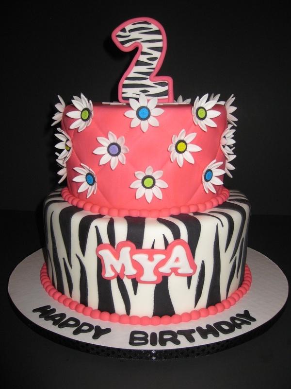 Mya's 2nd Birthday Cake