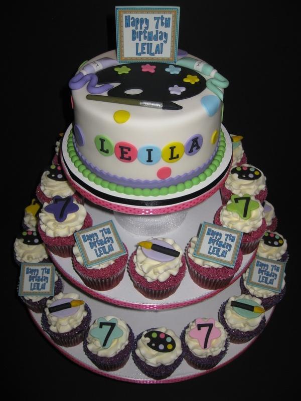 Leila's Artist Cake & Cupcakes