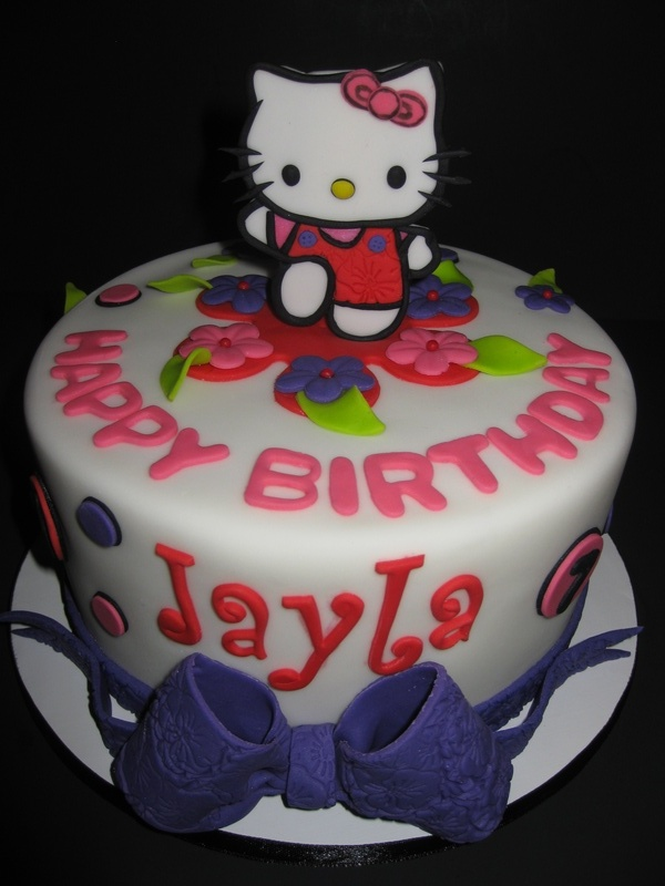 Jayla S Hello Kitty Birthday Cake