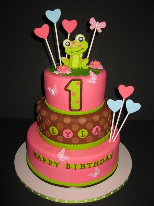 Lyla's Leap Year 1st Birthday Cake
