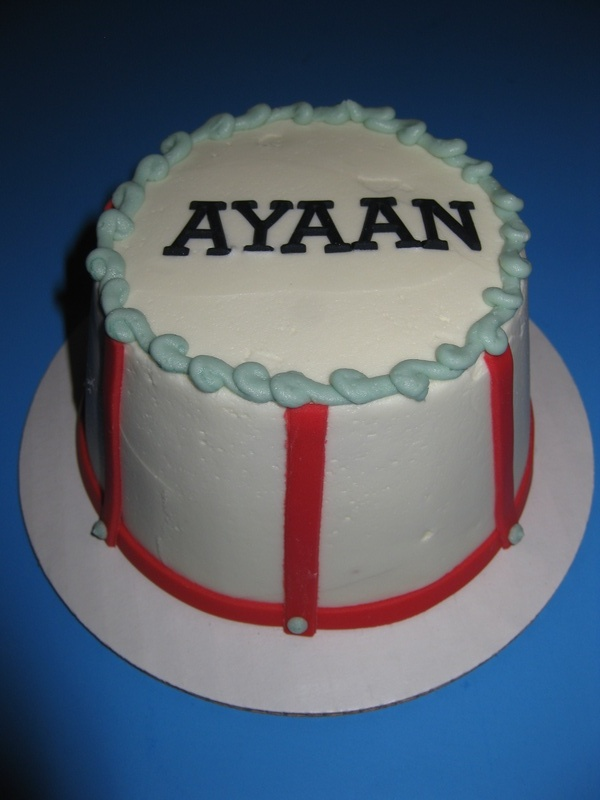 Ayaan's Circus Themed Smash Cake