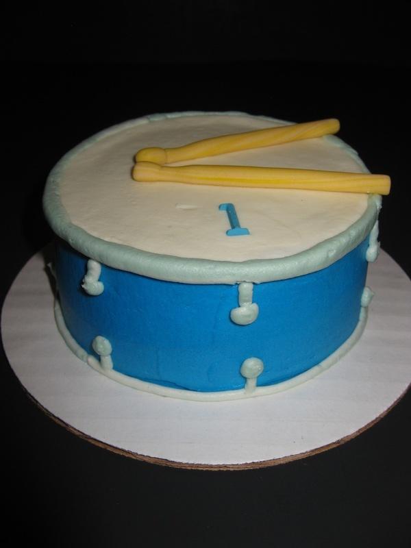Bastian's Drum Smash Cake