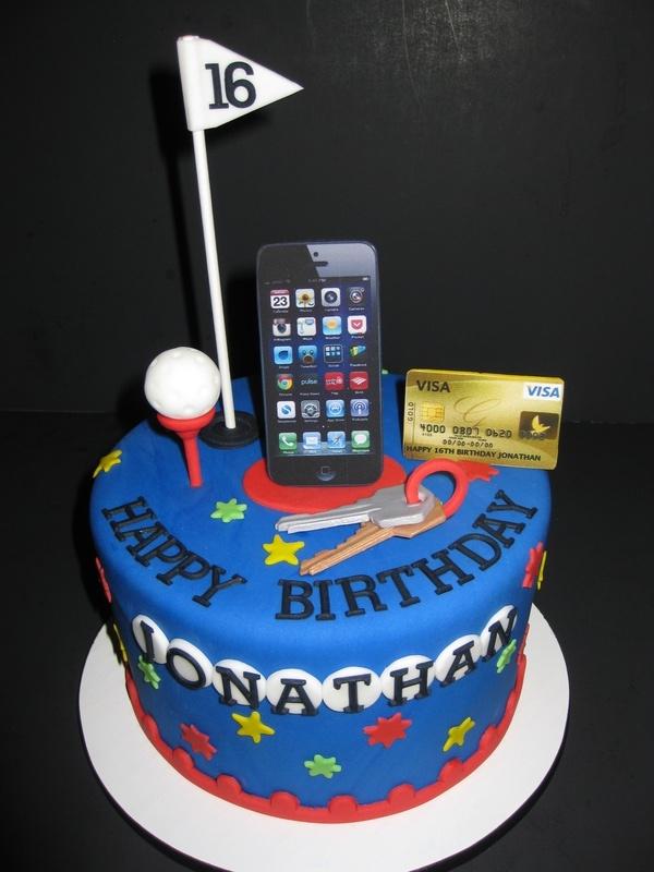 Jonathans 16th Birthday Cake