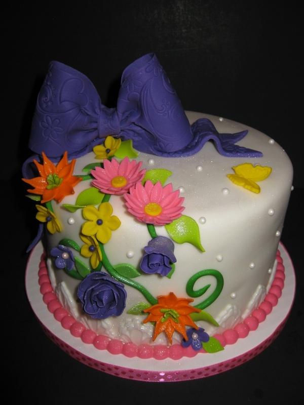 Kristin's Bridal Shower Display Cake