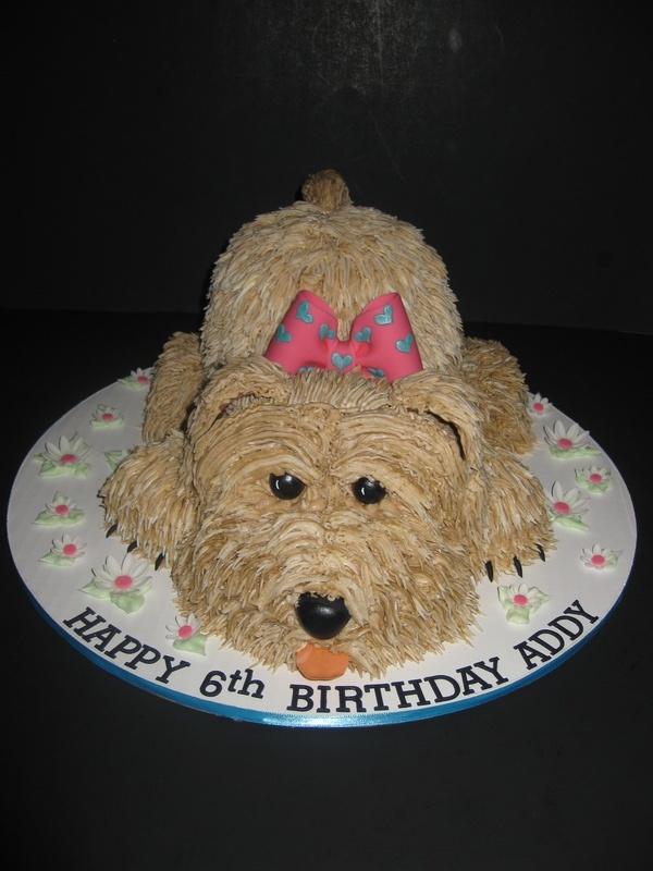Addy's Puppy Cake