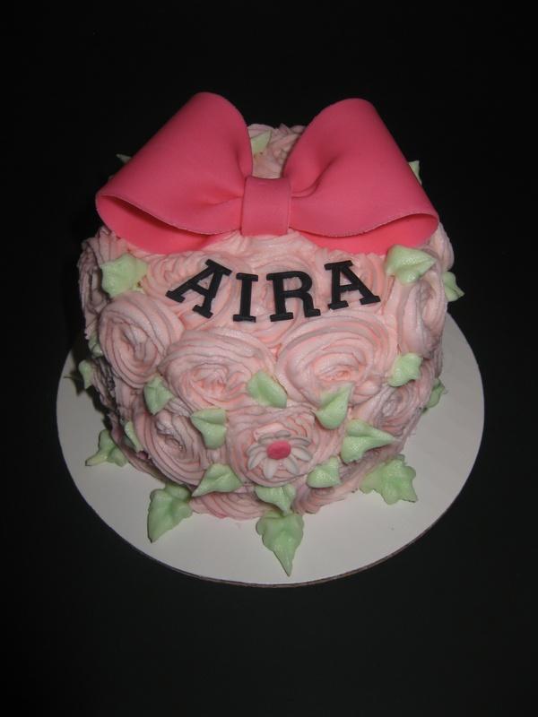 Aira's Smash Cake